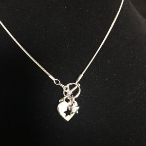 ❗️3/$10 HEART &STAR Front Toggle Necklace